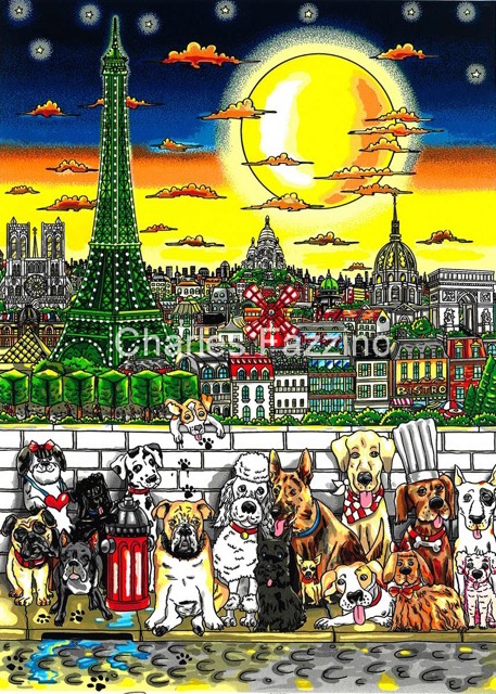 fazzino-cityscape-art-dogs-Paws-In-Paris.jpeg